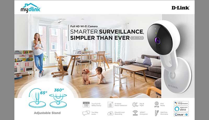 D-Link - HD Wi-Fi camera - techxmedia
