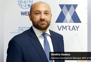 Dimitris Raekos - Business Development Manager MEA at VMRay - techxmedia