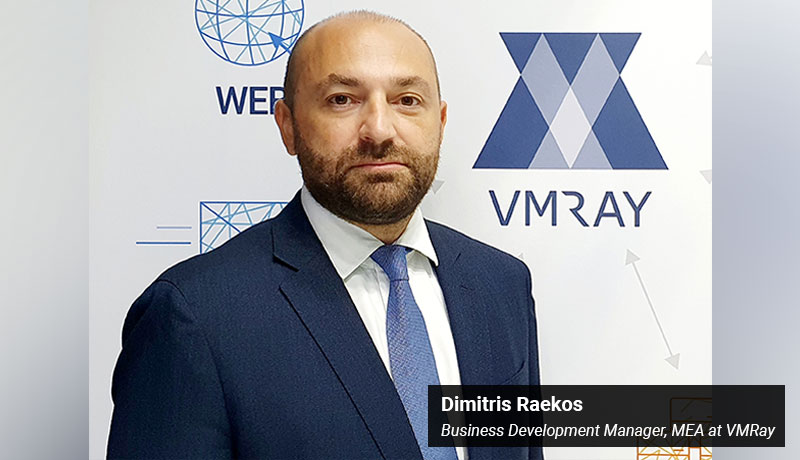 Dimitris Raekos - Business Development Manager MEA at VMRay - techxmedia