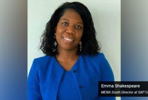 Emma Shakespeare - MENA South Director - SAP Concur - techxmedia