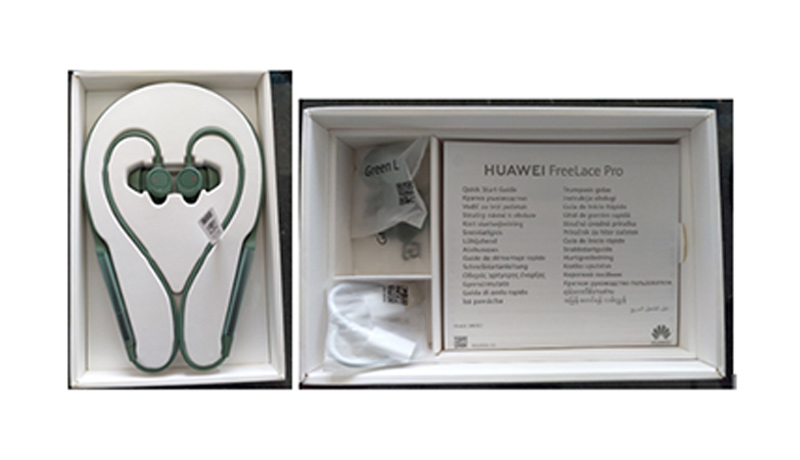 Huawei FreeLace Pro - noise cancellation earphones - techxmedia
