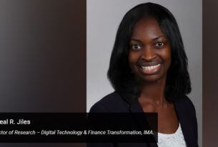 Loreal R. Jiles - Director of Research – Digital Technology - Finance Transformation - IMA - techxmedia