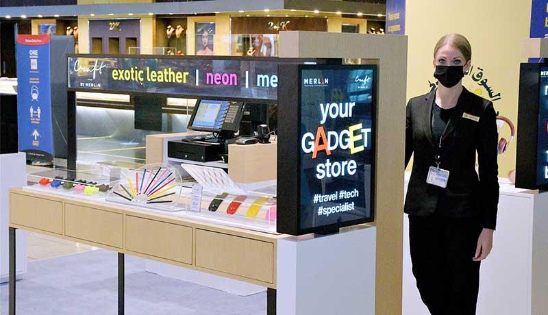 Merlin Digital - technology gadgets - Dubai Duty Free - techxmedia