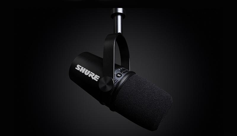 Shure - MV7 Podcast Microphone - UAE - techxmedia