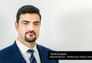 Tarek Kuzbari, regional director – Middle East & Turkey, Cybereason - techxmedia