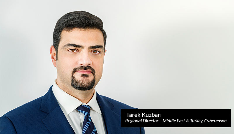 Tarek Kuzbari, regional director – Middle East & Turkey, Cybereason - techxmedia