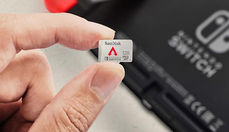 WD - Respawn Entertainment - Apex Legends memory card - techxmedia