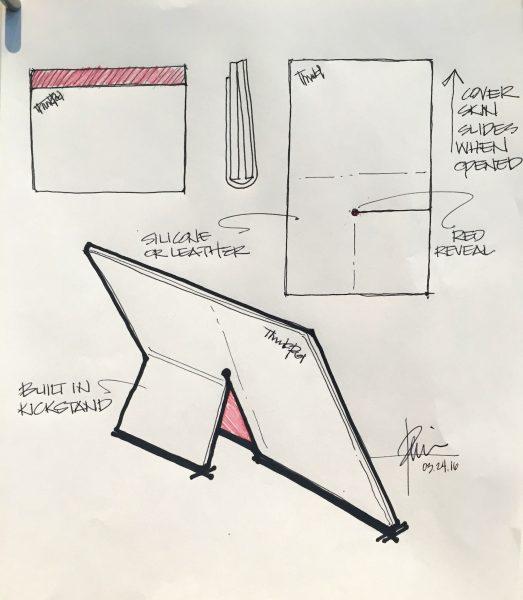 Lenovo X1 Fold design- techxmedia