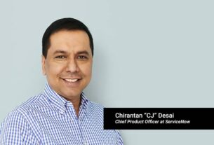 CJ Desai, Chief Product Officer, ServiceNow - TECHx