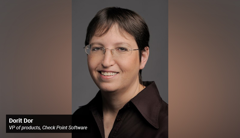 Dorit Dor - vice president of products - Check Point Software - techxmedia