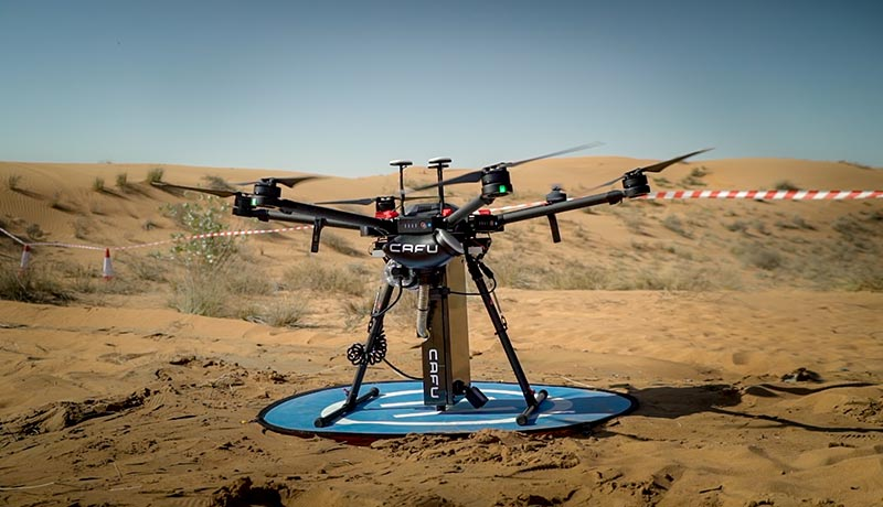 Dubai-born - CAFU - drone technology - planting mechanism - techxmedia