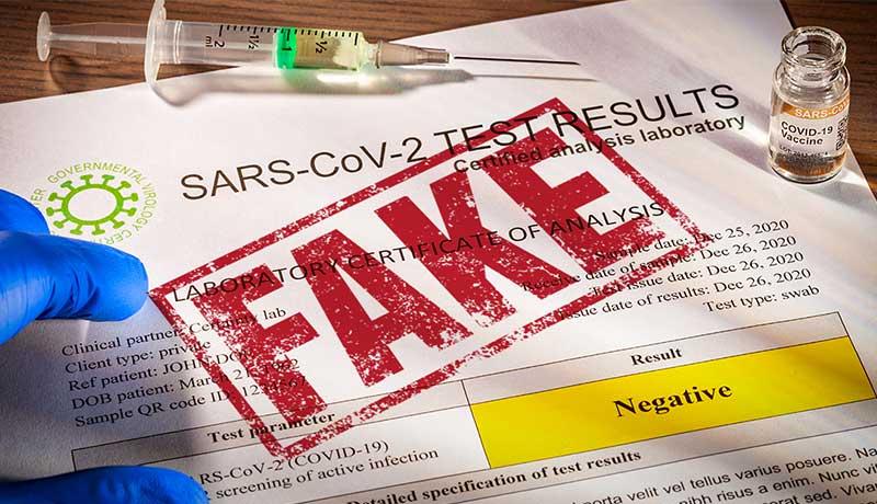 Hackers vaccination certificates - Darknet - techxmedia