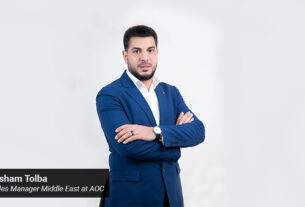 Hisham Tolba - Sales Manager - Middle East at AOC - techxmedia