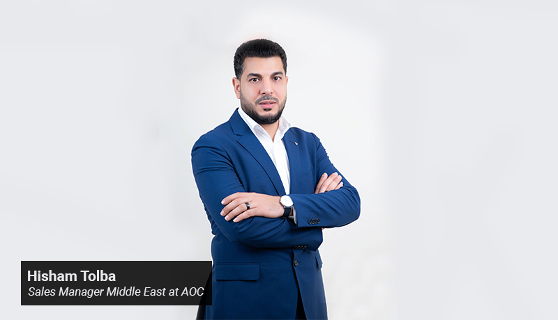 Hisham Tolba - Sales Manager - Middle East at AOC - techxmedia
