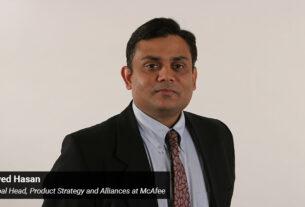 Javed Hasan - Global Head- Product Strategy and Alliances - McAfee - techxmedia