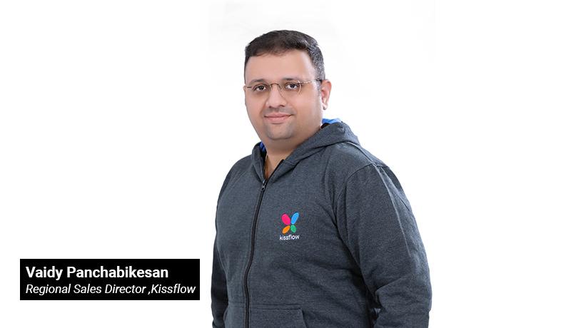 Kissflow - Vaidy Panchabikesan - new Regional Sales Director - techxmedia