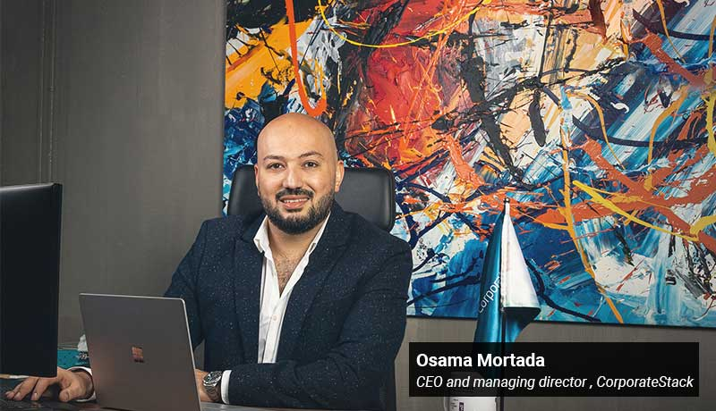 Osama Mortada - CEO - managing director - CorporateStack -techxmedia