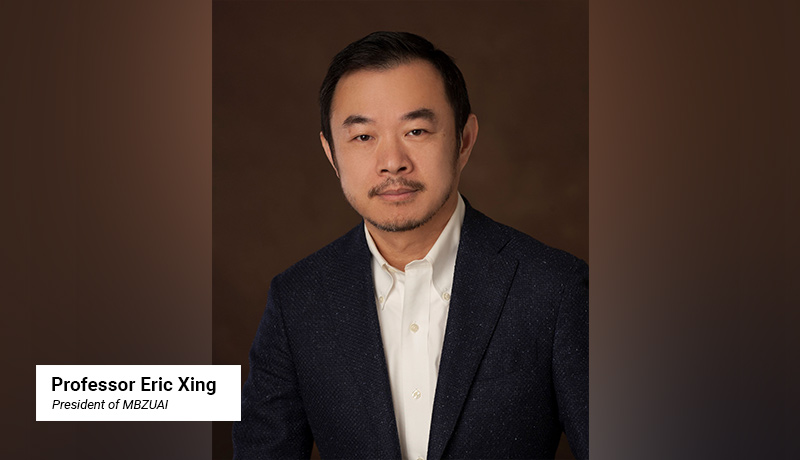 Professor Eric Xing - President - MBZUAI - techxmedia