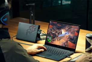 ROG- Flow X13 - convertible gaming laptop - UAE - techxmedia