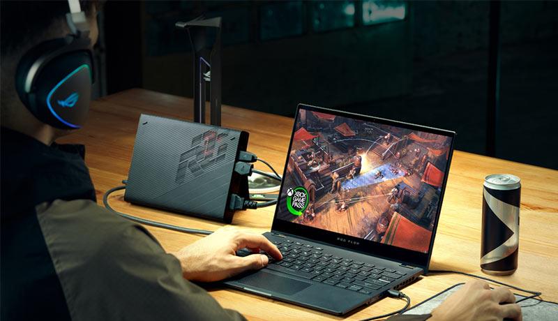 ROG- Flow X13 - convertible gaming laptop - UAE - techxmedia