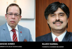 Rajeev Karwal, CEO of Milagrow Robots, and Shahzad Ahmed - Chairman - CEO - Blue Ocean Global - techxmedia