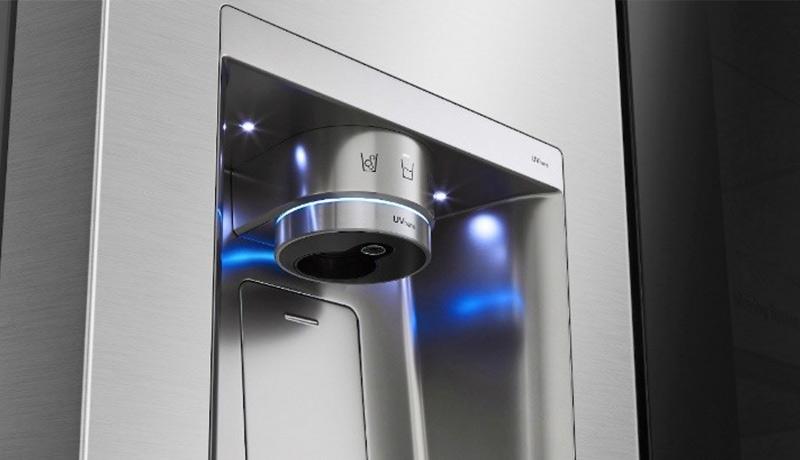 inside3 - LG- UV technology - convenient sanitization - techxmedia