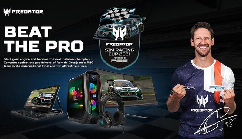 Acer- Predator Sim Racing Cup 2021- techxmedia