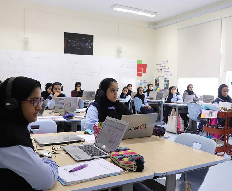 Alef-Platform-being-used-in-a-UAE-public-school - techxmedia