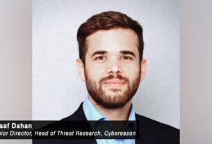 Assaf Dahan- senior director- head of threat research- Cybereason-techxmedia