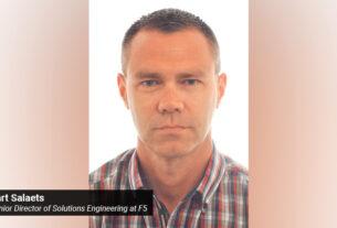 Bart Salaets- Senior Director of Solutions Engineering - F5 -techxmedia