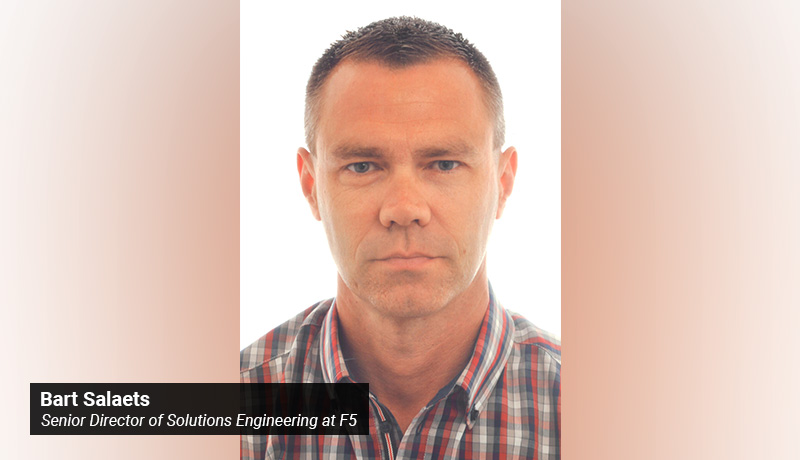 Bart Salaets- Senior Director of Solutions Engineering - F5 -techxmedia