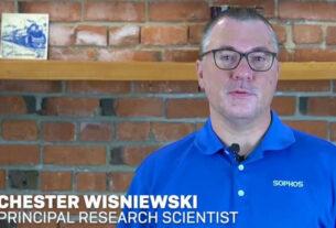 Chester Wisniewski- principal research scientist- Sophos- techxmedia