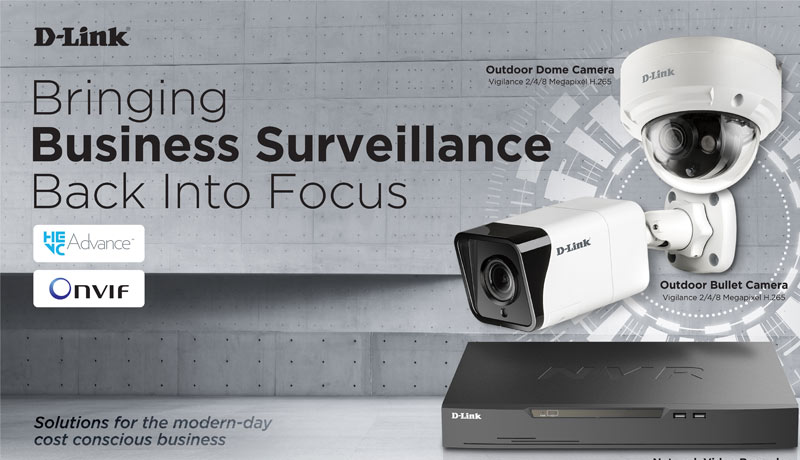 D-Link- new Vigilance Solutions - business surveillance -techxmedia
