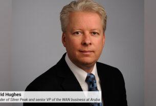 David Hughes - founder - Silver Peak - senior vice president - WAN business - Aruba - techxmediaDavid Hughes - founder - Silver Peak - senior vice president - WAN business - Aruba - techxmedia
