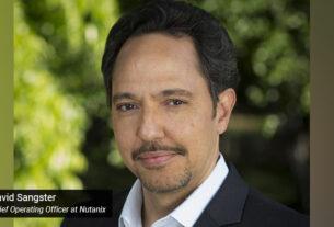 David Sangster - Chief Operating Officer - Nutanix - techxmedia