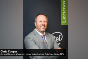 Dr Chris Cooper- Director and General Manager- Lenovo Infrastructure Solutions Group MEA - TECHXMEDIA