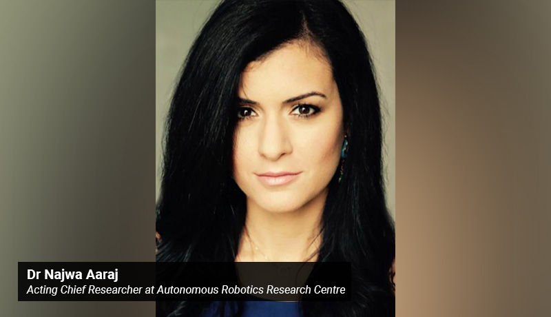 Dr Najwa Aaraj - Acting Chief Researcher - Autonomous Robotics Research Centre - techxmedia