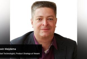 Edwin Weijdema- Global Technologist- Product Strategy- Veeam - techxmedia