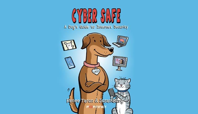 Fortinet -new children's book - cyber awareness - techxmedia