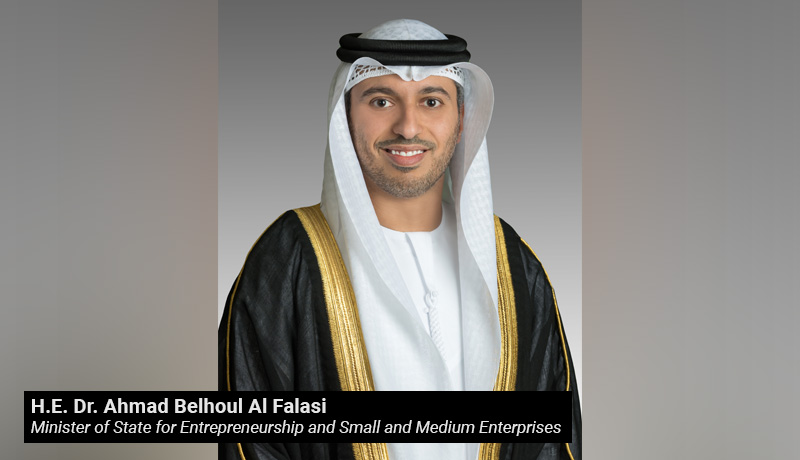 H.E. Dr. Ahmad Belhoul Al Falasi - Minister of State for Entrepreneurship - Small and Medium Enterprises - techxmedia