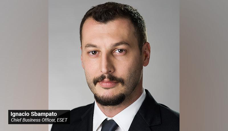 Ignacio Sbampato - Chief Business Officer - ESET - techxmedia