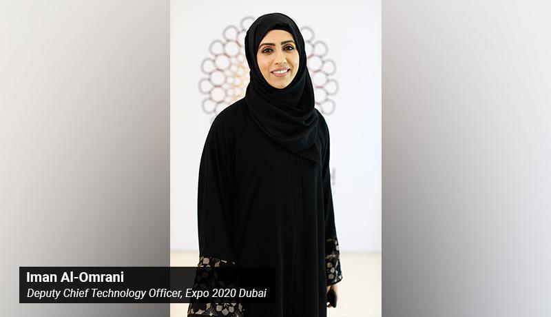 Iman Al-Omrani - Deputy Chief Technology Officer - Expo 2020 Dubai - techxmedia