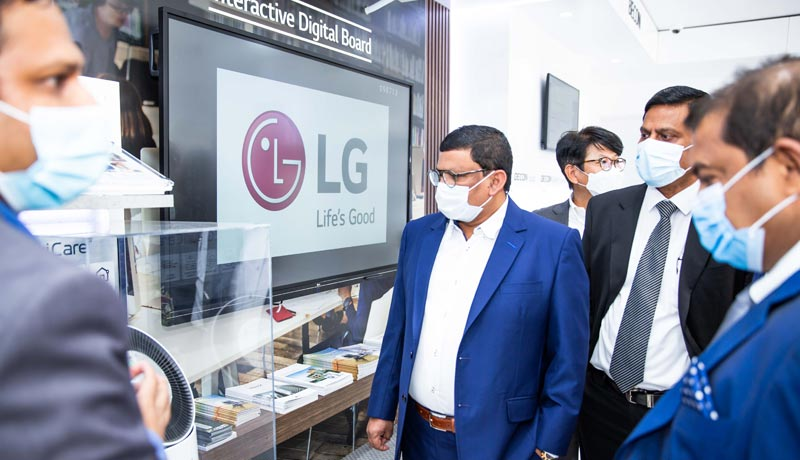 LG - B2B showroom in Ras Al Khaimah - TECHx
