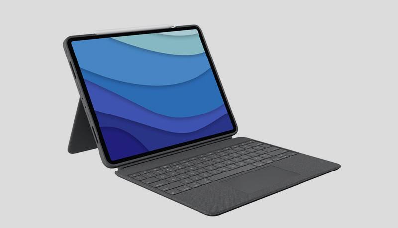 Logitech Combo Touch- iPad Pro 12.9-inch - iPad Pro 11-inch-techxmedia