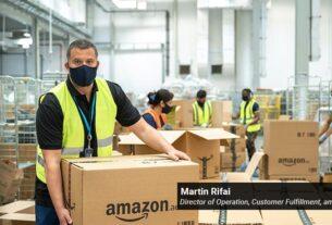 Martin Rifai- Director of Operation- Customer Fulfillment -Amazon - techxmedia