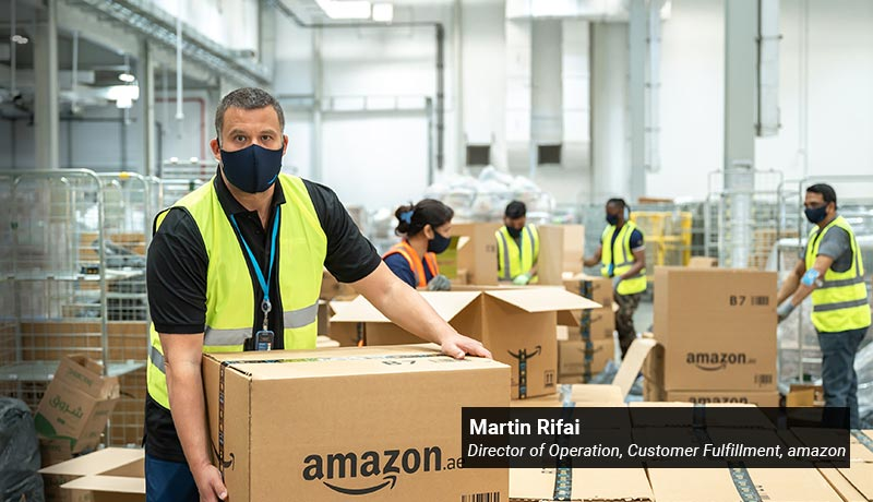Martin Rifai- Director of Operation- Customer Fulfillment -Amazon - techxmedia