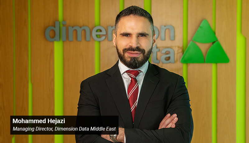 Mohammed Hejazi - Managing Director - Dimension Data - Middle East - techxmedia