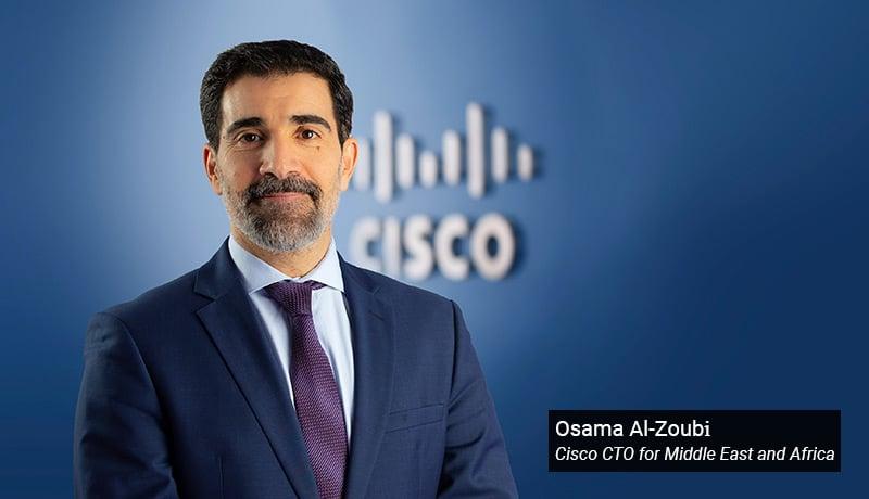 Osama Al-Zoubi - Cisco CTO - Middle East and Africa - techxmedia
