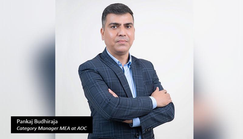 Pankaj-Budhiraja,-Category-Manager-Middle-East-&-Africa-at-AOC - techxmedia
