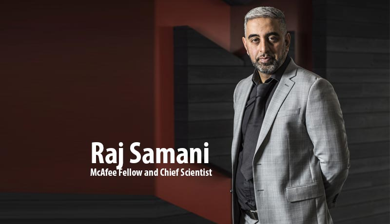 Raj Samani, McAfee fellow and chief scientist - COVID-19-themed threats - McAfee - TECHx